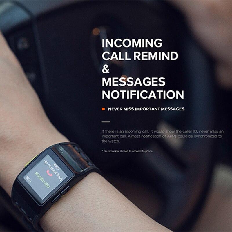 US $54 55  IP1 Sports GPS Watch Smart Watch IP67 Waterproof Color Screen  Multisport Wristwatch Men Strava Fitness Watch Smartwatch-in Smart Watches