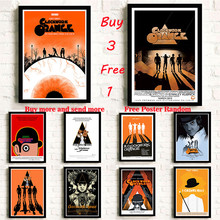 Stanley Kubrick A Clockwork Orange Coated paper Poster Drawing Wall stickers decorative painting Frameless недорго, оригинальная цена