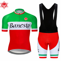 Banesto Cycling Jersey 2018 Pro Reflective Maillot Ropa Ciclism Men Bike Bicycle Jersey Cycling Cloth 9D Pad Outdoor Jersey