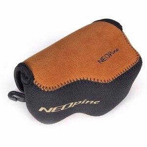 Image 5 - Portable Neoprene Soft Camera Case for Sony Alpha A5000 A5100 NEX 5T NEX 3N NEX 5R with 16 50mm Lens Digital Camera