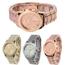 Gofuly New Gold Watch Ladies Women Girl Business Watch Luxury Brand Stainless Steel Quartz WristWatch Casual Watch Dress Clocks