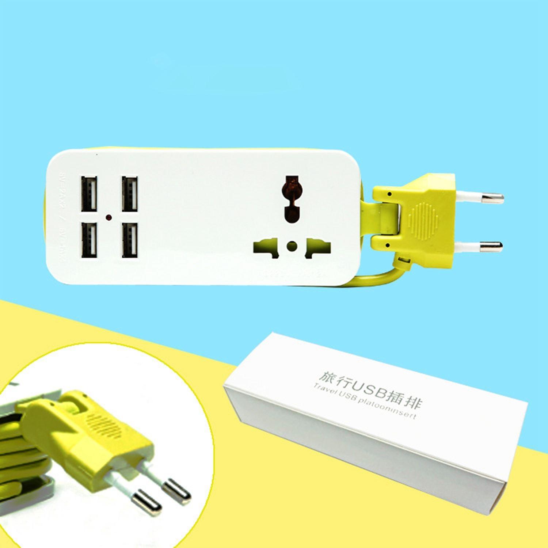 Aliexpress.com : Buy EU Plug Extension Socket 1.5M Outlet Portable ...