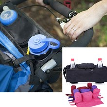 1PCS Portable Baby Feeding Milk Bottle Insulation Universal Stroller Holder Diaper Bags Breast Warmer Storage Bag Organizer