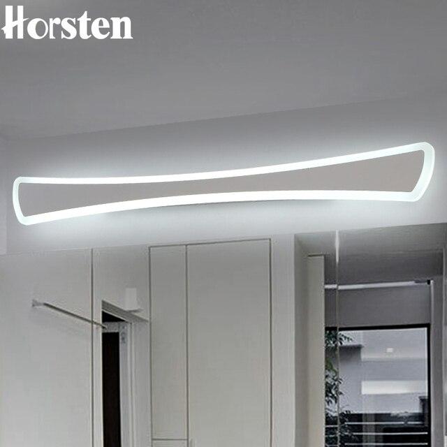 Horsten Moderni Semplici Luci LED Specchio 40 120 cm Lungo Lampada ...
