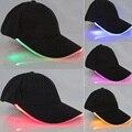 Homens Mulheres Bonés de Beisebol do DIODO EMISSOR de Luz Brilho Quente Nova Moda adulto Cool Club Festa Luminosa Noctilucentes Flash Chapéu Para Viagens esportes