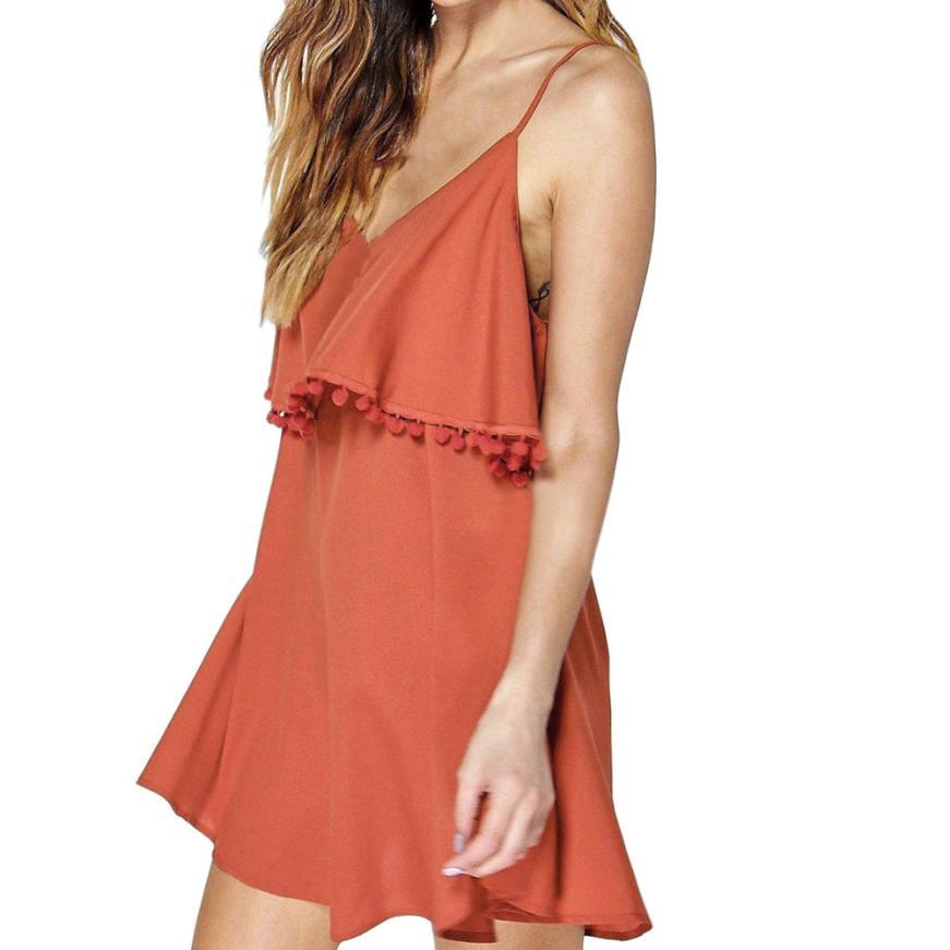2018 New Off Shoulder Ruffle Summer Dress Women White