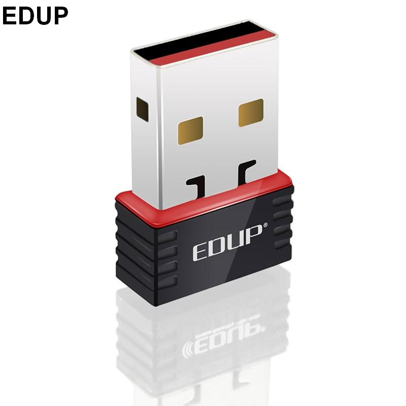 EDUP EP-N8508 MINI USB brezžični adapter 802.11N 150M wifi NANO kartica Dongle računalnik wifi realtek 8188cus čipset maloprodajna škatla