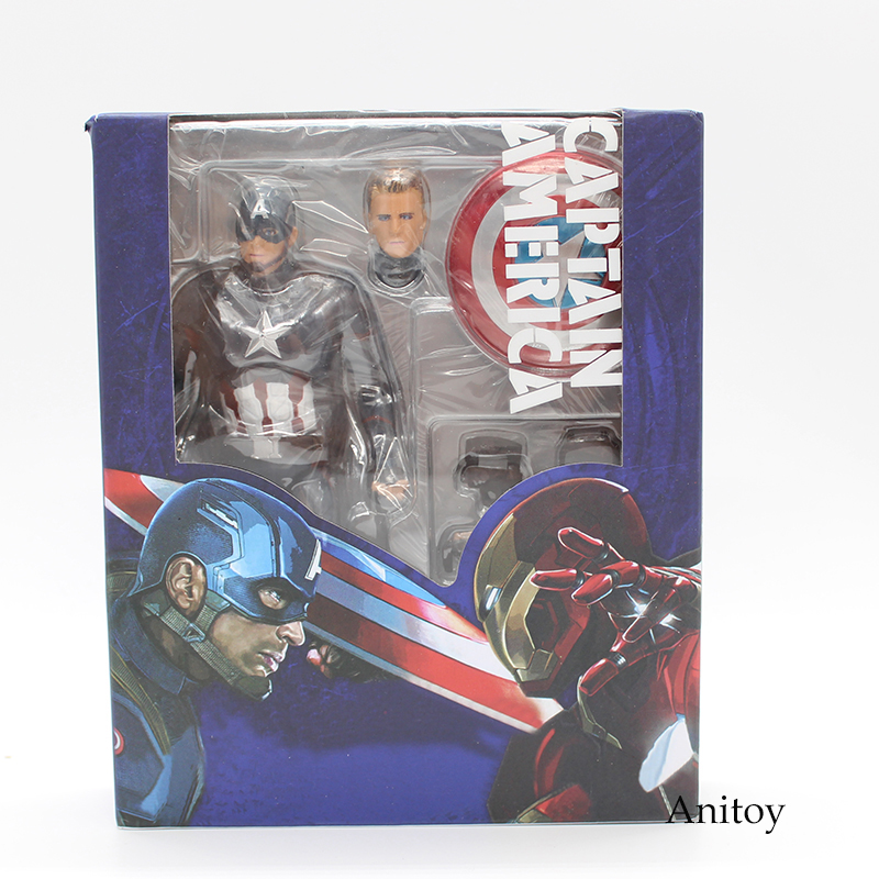 SHFiguarts SHF Figuarts Captain America PVC Action Figure Collectible Model Toy 15.5cm KT3909 все цены