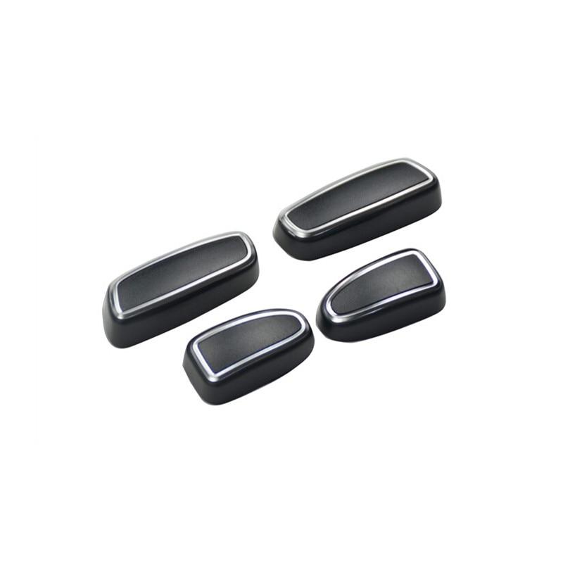 Car Styling!4pcs ABS Inner Car Seat Seats Adjustment