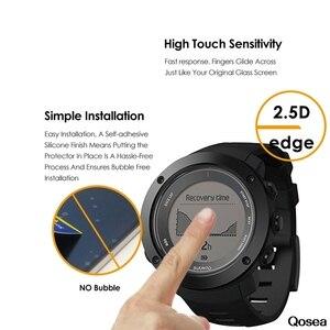 Image 2 - 10Pcs מקורי מגן פרימיום מזג זכוכית עבור Suunto Ambit 3 אנכי GPS Ambit3s לרוץ 2.5D 9H ברור סרט מסך מגן