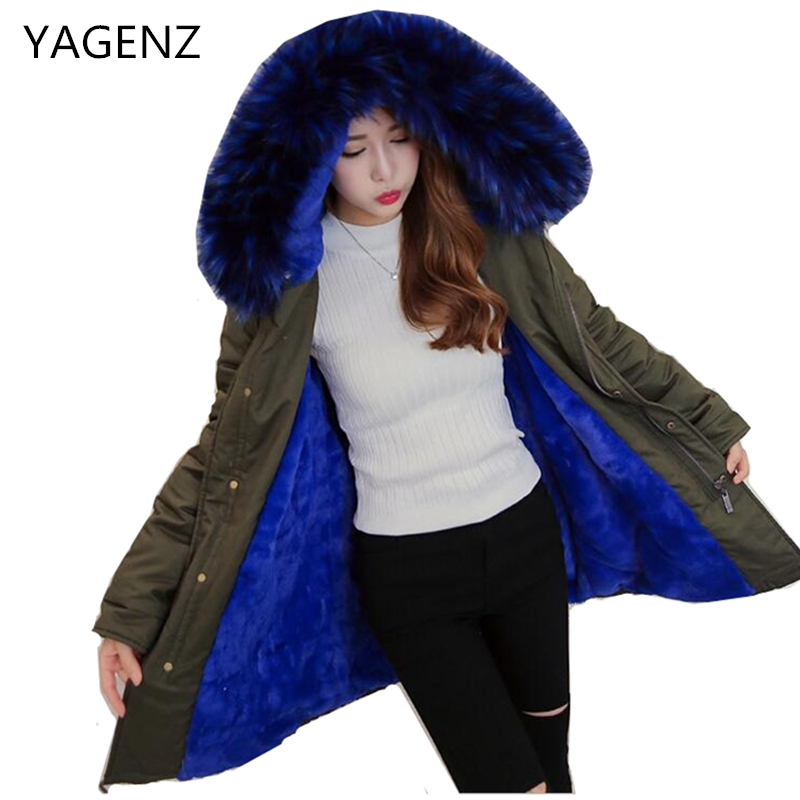 Winter Women Large Fur Collar Jacket Coat Loose  Hooded Plus size Cotton outwear Parkas Casual Winter Thick Female Warm Jacket new fashion winter jacket women fur collar hooded jacket warm thick coat large size slim for women outwear parka women g2786