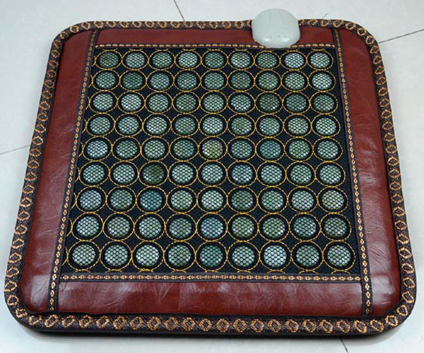 Free Shipping Jade Massage Pad Jade Heated Jade Cushion Health Care Cushion Size:45*45cm