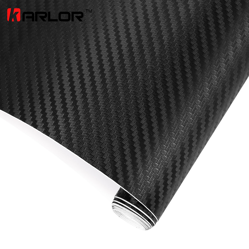 200cm x50cm 3D Carbon Fiber Vinyl Wrap Film Motorcycle Car Vehicle Stickers And Decals Sheet Roll Car Accessories Car-styling стоимость