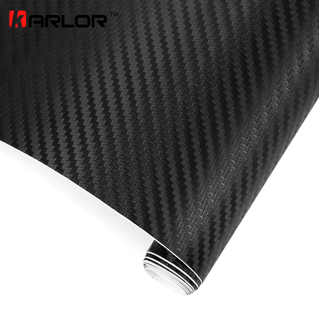 200cm x50cm 3D Carbon Fiber Vinyl Wrap Film Motorcycle Car Vehicle Stickers And Decals Sheet Roll Car Accessories Car-styling