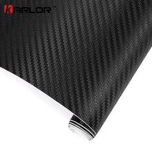 200 cm x 50 cm 3D Fibra di Carbonio Vinile Wrap Film Moto Auto Adesivi E Decalcomanie Sonore Rotolo Car accessori Auto-styling