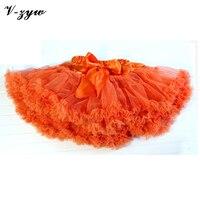 Girls Tulle Skirt Infant Toddler Tutu Skirts Ballerina Dance Short Cake Red Blue Ruffle Tutu Skirt