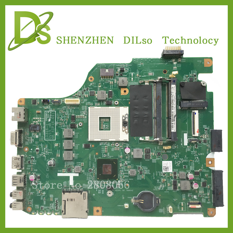 For Dell n5050 laptop motherboard 10316-1 DV15 HR 48.4IP16.011 motherboard integrated original 100% tested автомобильная акустика