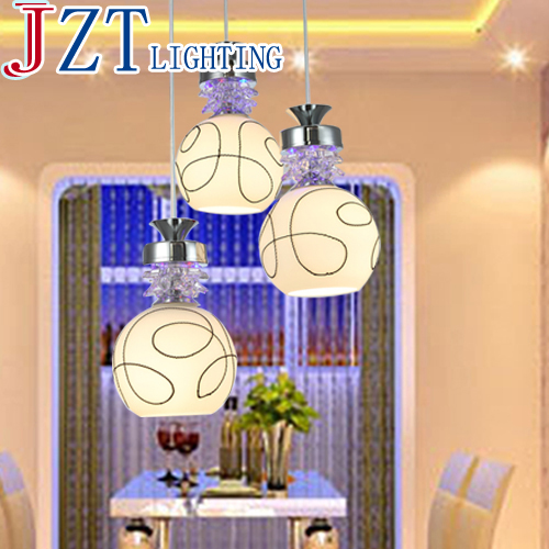 M Contemporary And Contracted LED Pendant Lamps Restaurant Droplight 3 Heads Creative Personality Meals Dining Room Light hand knitting cany art chimney droplight contracted and contemporary dining room creative personality study cafe droplight
