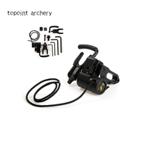 Topoint archery Compound Bow Accessories CNC Aluminum Alloy Bow Drop Away Fall Away Arrow Rest for Archery Hunting Shooting