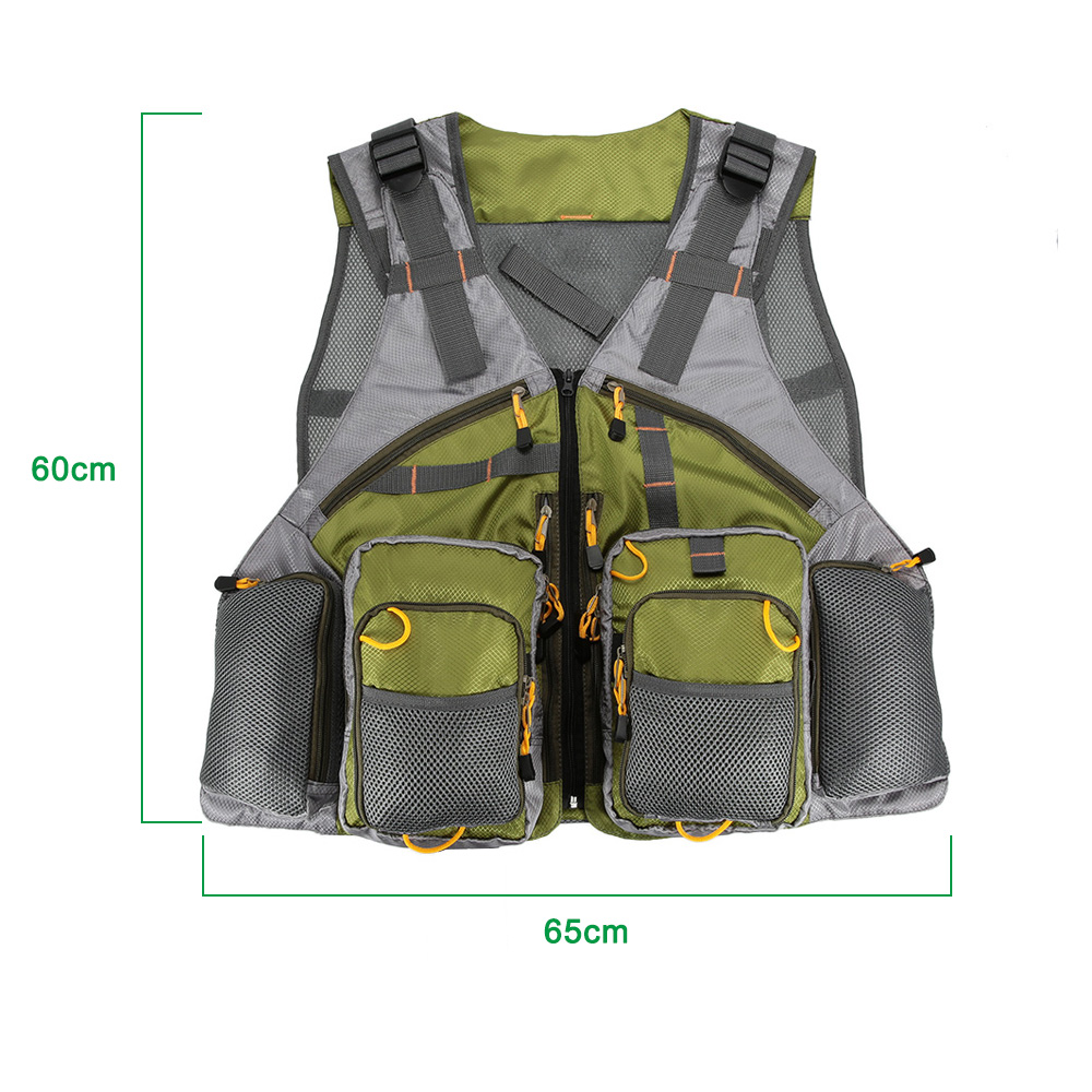 Vest fur picture more detailed picture about adjustable for Women s fly fishing gear