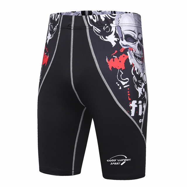 Mens Shorts Stretch Compression Quick Dry Slim Fit Utility Shorts Summer Thermal Base Layer compression shorts men