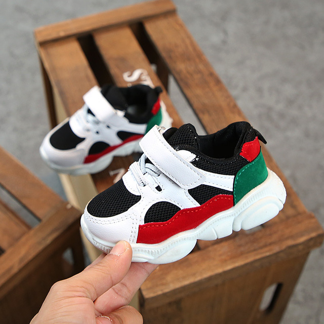 2019 Spring Baby Girls Boys Casual Shoes Infant Toddler Shoes Soft Bottom Non-slip Comfortable Shoes Kids Children Sneakers 3