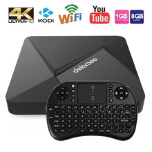 DOLAMEE D5 Smart TV Box RK3229 Android 5.1 Max 2GB DDR3 8GB Storage HD 4K x 2K 2.4G WiFi 16.1 fully loaded Media Player PK X96(China (Mainland))