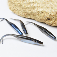 TOMA 12cm6.5g Soft Bait Pesca Black Back Fish Baits Brand Bass Fishing Soft Lure Saltwater Lures Fishing Tackle better than