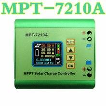 Big sale MPT-7210A Battery Solar Panel MPPT DC-DC Step-Up Power Solar Regulator Charge Controller for 24V 36V 48V 72V  50% off