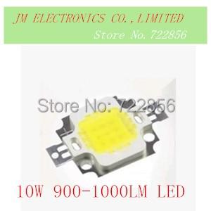 FREE SHIPPING 15PCS/LOT 10W 900-1000LM LED Bulb IC SMD Lamp Light Daylight white High Power LED 6000-6500K 35x35MIL