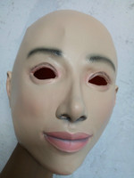 Super Quality Sexy And Sweet Female Latex Mask Masquerade Masks Cosplay Full Face Mask Costume Halloween
