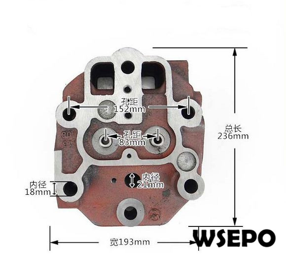 Cylinder Head For Cylinder Piaggio Liquid Cooled: OEM Quality! Cylinder Head Comp For CT1125 4 Stroke Single