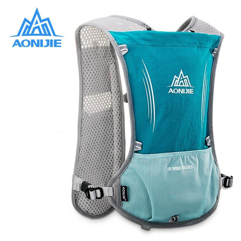 AONIJIE Men Women Running Backpack Outdoor Sports Racing Marathon Hiking Fitness Bag Hydration Vest Pack Lightweight Running Bag