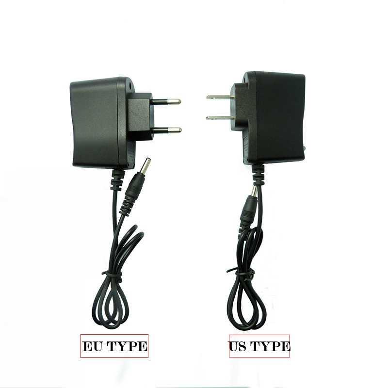 الولايات المتحدة الاتحاد الأوروبي شاحن DC4.2V 3.5 مللي متر مصباح يدوي امدادات الطاقة شاحن 4.2 فولت 500mA التيار المتناوب الذكية محول الطاقة 18650 شاحن بطارية ليثيوم أيون