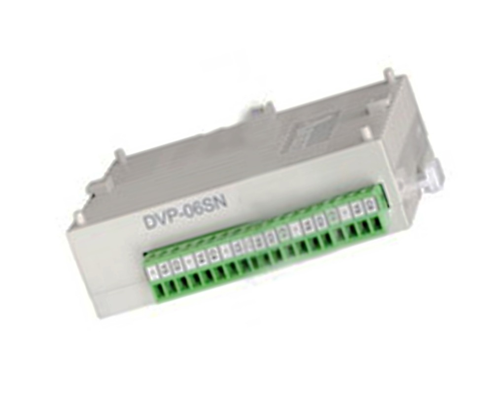 New Original DVP06SN11R DC24V PLC 6DO relay Module dc 12v led display digital delay timer control switch module plc automation new