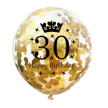 Get more info on the 1pcs Balloons Birthday 12 Inch Transparent Digital Crown Decoration Emulsion Wedding Birthday Party Decorations Ballons Globos