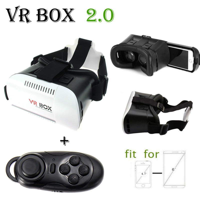 Hot Selling font b VR b font BOX 3D Virtual Reality Glasses Google Cardboard Movie Game