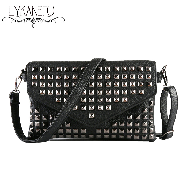 New 2017 Women Messenger Bags Envelope Clutch Bags for Women Shoulder Bag Ladies Crossbody Handbags for Womens Wholesale new stylish patent leather women messenger bags women handbags crocodile shoulder bags for woman clutch crossbody bag 6n07 06