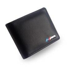 M logo Licencia de Conducir cartera de Cuero Genuino Soporte de la Tarjeta de Crédito Para BMW e90 e36 e46 e34 e39 e60 x5 x6 x3 x1 e30 e53 f10 f20 f30