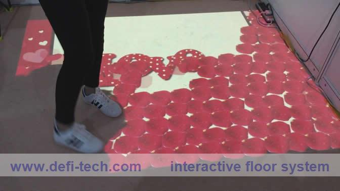 online buy wholesale interactive floor projection system from