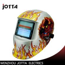 Welding accessory LED light AAA battery+solar automatic darkening welding helmet /eye protection mask
