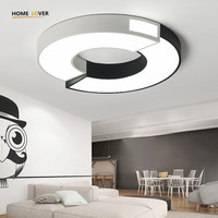 Led Ceiling Light With Remote Control For Living Room Bedroom Kitchen Luminaria Led Ceiling Lamp Round