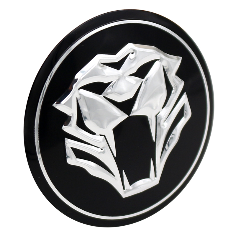 Meilistar New 4pcs 565mm Wheel Hub Center Tiger Logo Badge Badge