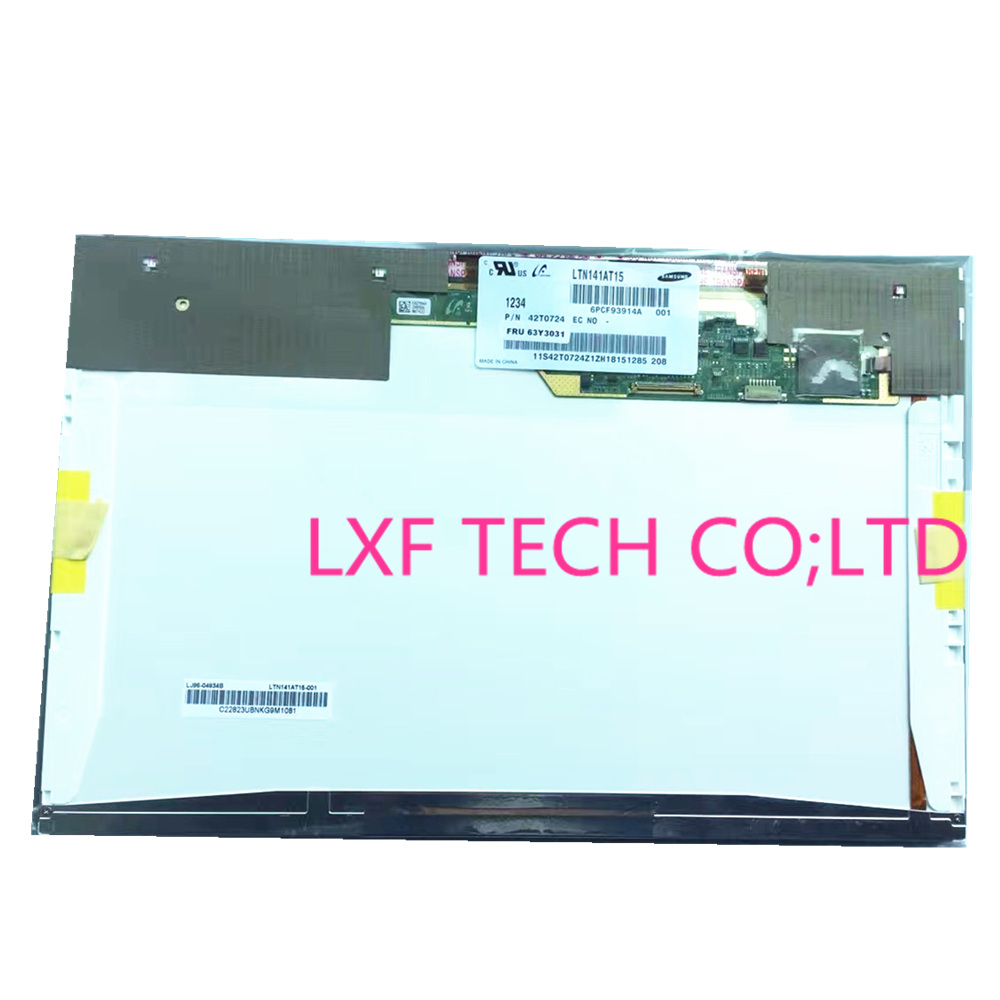 14 1''LCD LED screen LTN141BT09 LP141WP3 TLA1 LTN141AT15