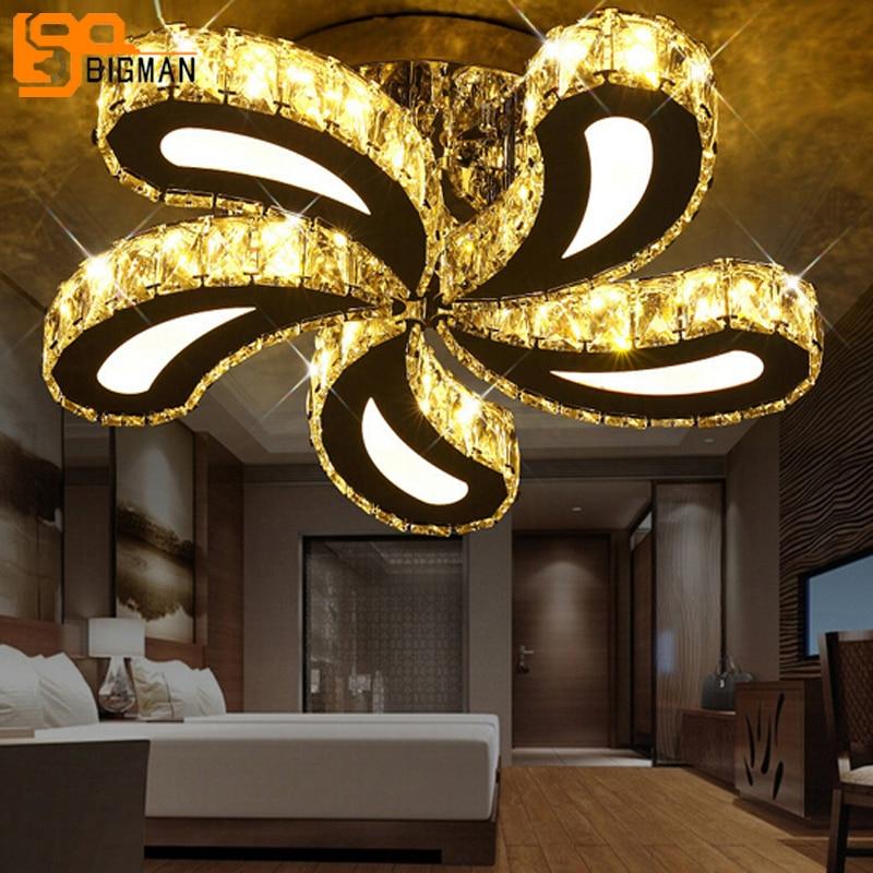 new design Led Crystal Ceiling Lights For Living Room lustre plafonnier led moderne cristal Ceiling Lamps 5 Beau Plafonnier Led Moderne Lok9