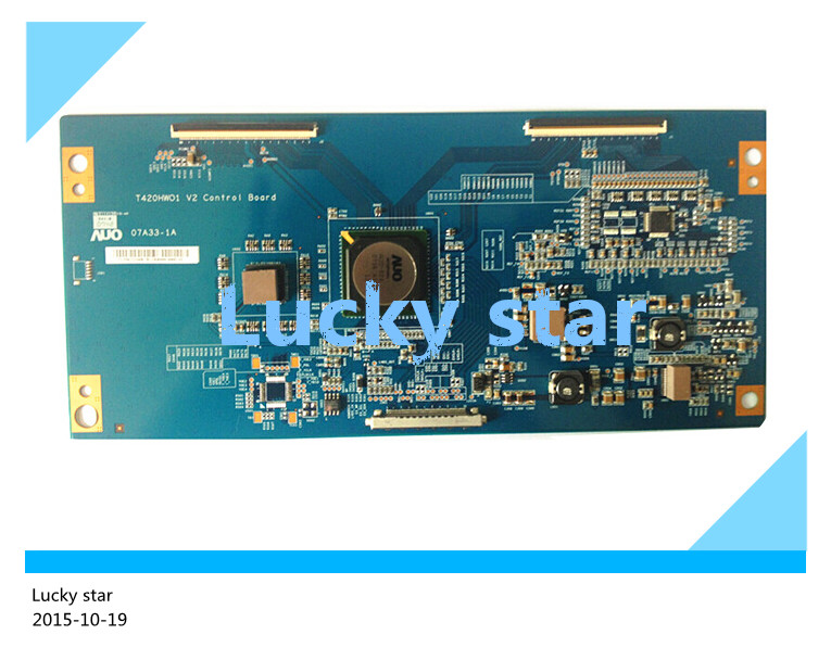 100% tested good working High-quality for original 98% new T420HW01 V2 07A33-1A 420BLM-JI logic board 2pcs/lot
