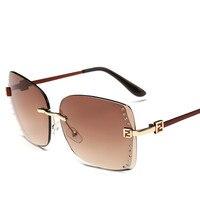 جديد وصول ريترو نظارات المرأة 2017 ماركة شعبية الصيف نمط أزياء التدرج مرآة glases الشمس للنساء ظلال uv400