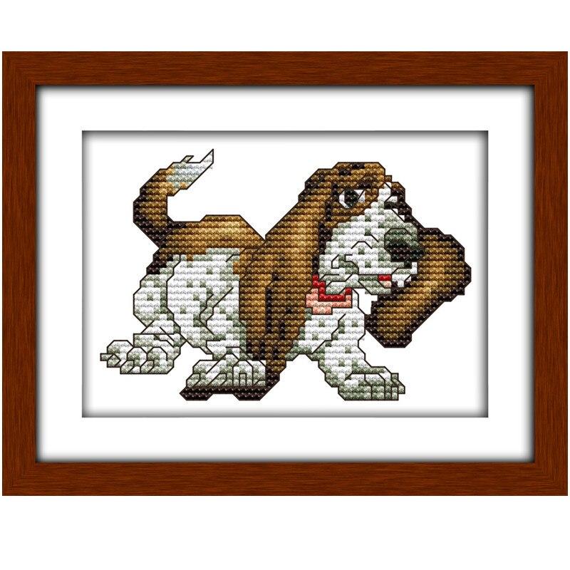 Cross stitch chart-KIT BASSET HOUND DOG 1
