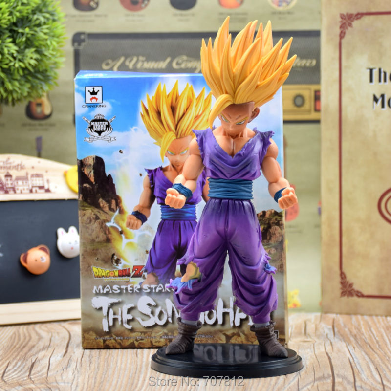 Dragon Ball Z GT Action Figure PVC Super Saiyan Gohan Japanese Cartoon Toy QLZ022