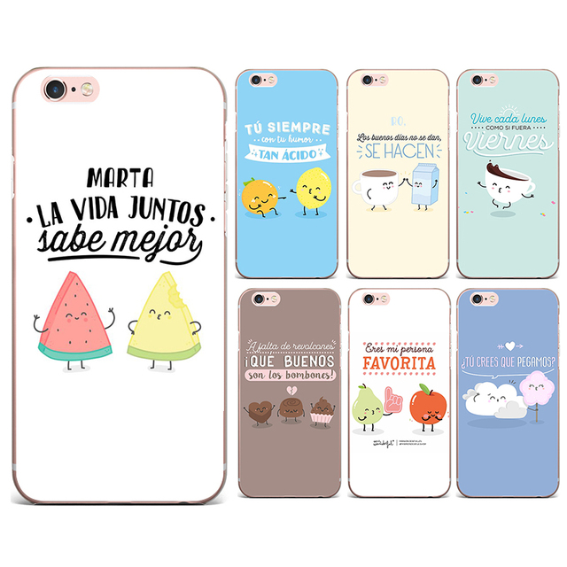 d8d49529588 Mr Wonderful Fundas For IPhone 4 4S 5 5S SE 6 6S PLUS 7 7 PLUS Case Luxury  Silicone Soft Tpu Phone Cover Series Cartoon Case